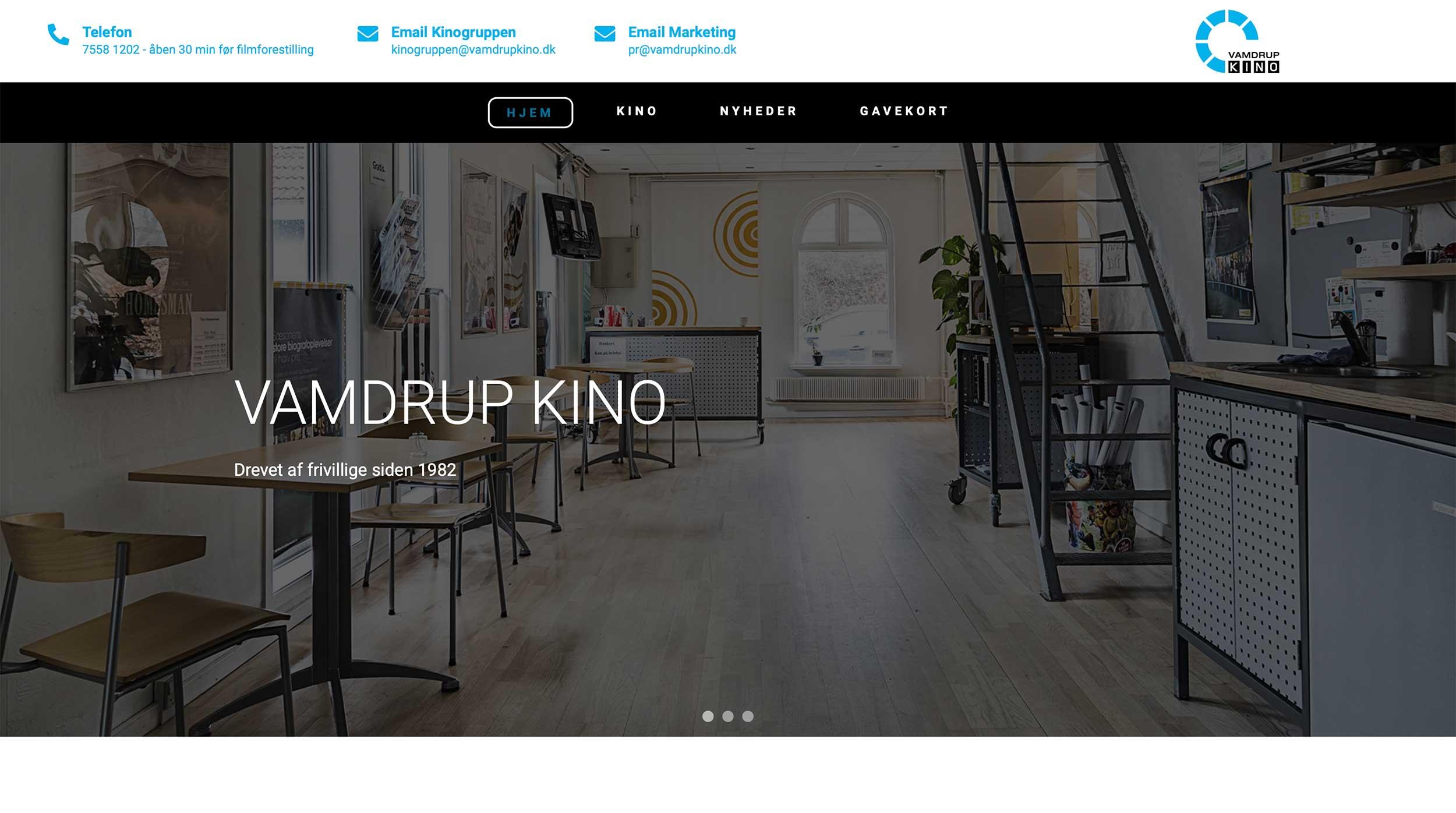 Ny responsive hjemmeside